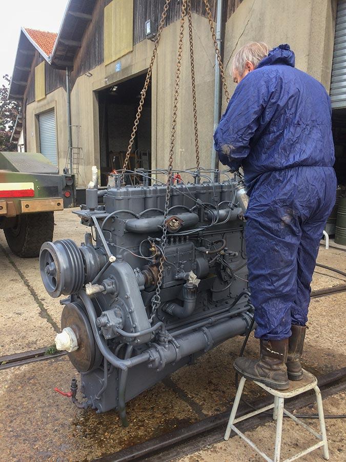 Le moteur du Diplodocus remis à neuf