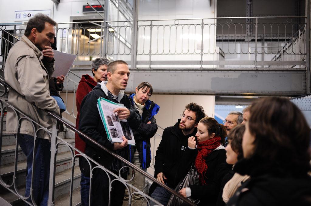 Visite-conférence à la station Cité