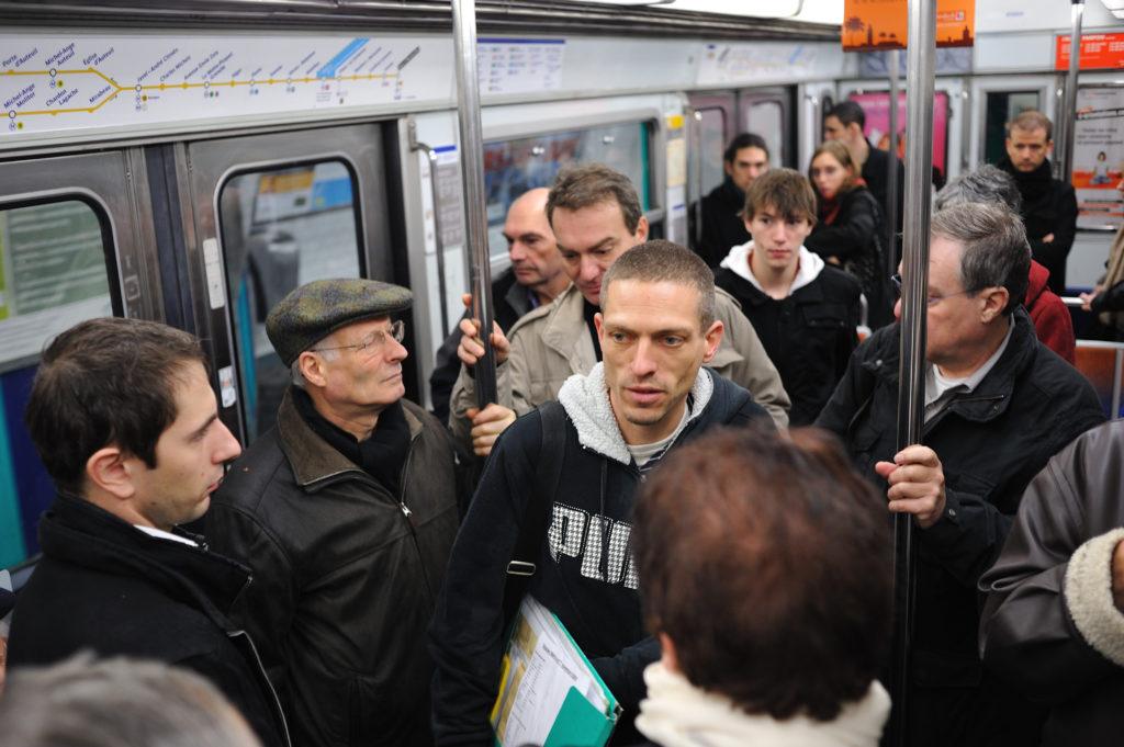visite conférence dans le métro
