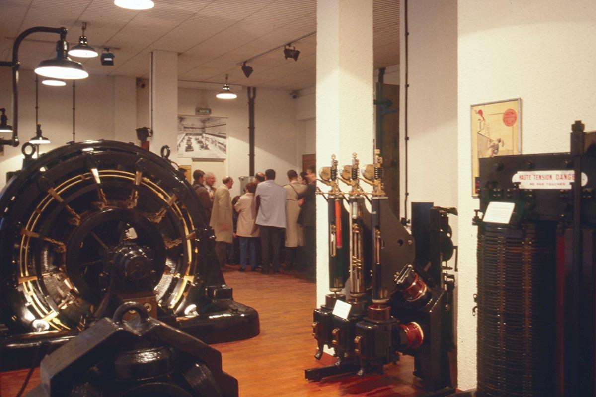 Visite du musée des sous-stations