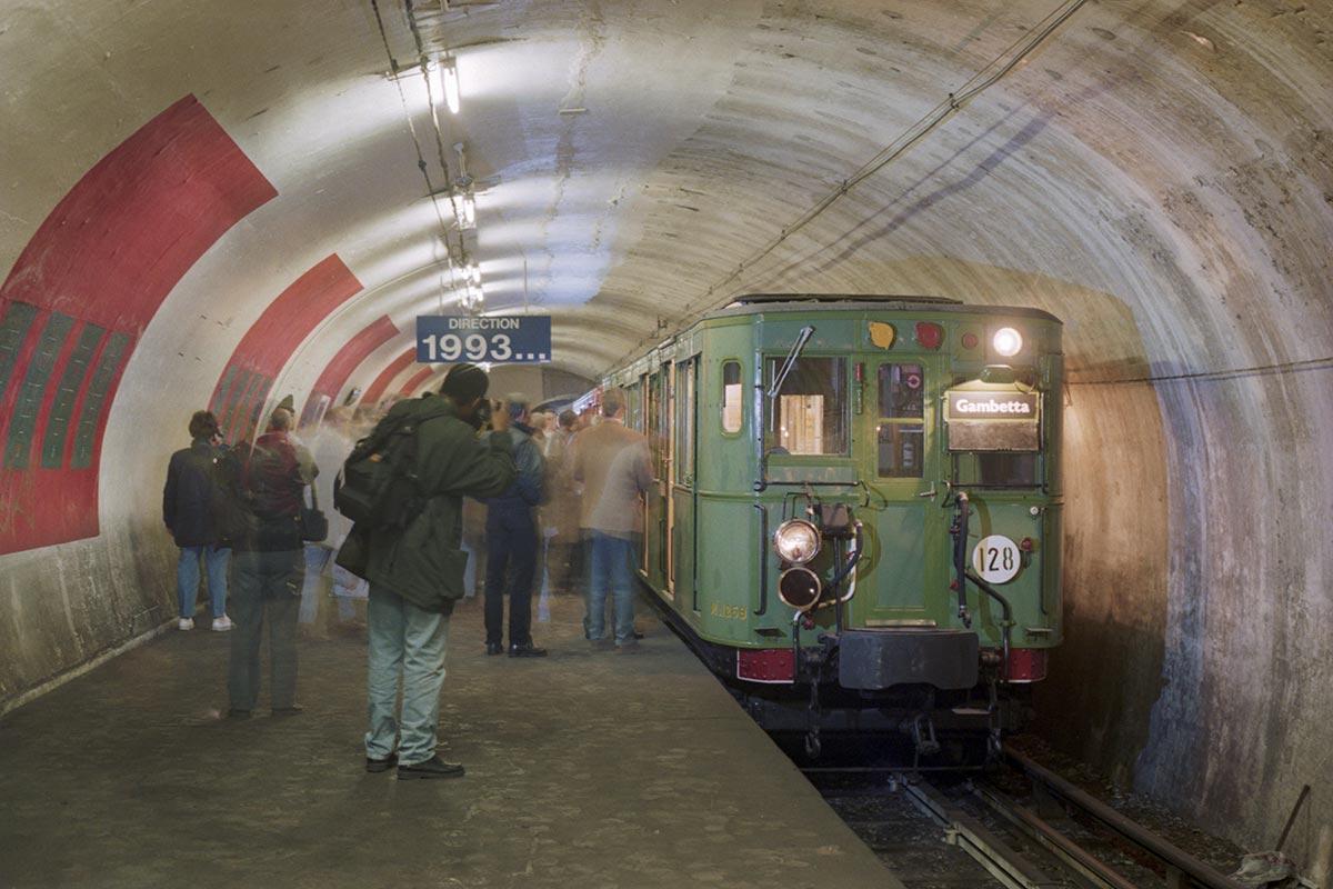 Rame Sprague-Thomson à la station Haxo
