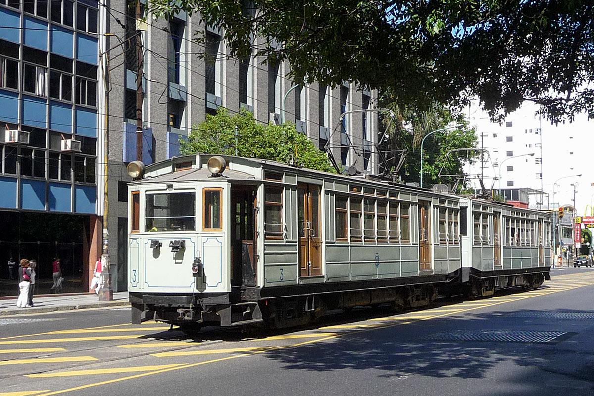Voyage en Argentine : tramway de Buenos Aires, motrices UEC-Preston