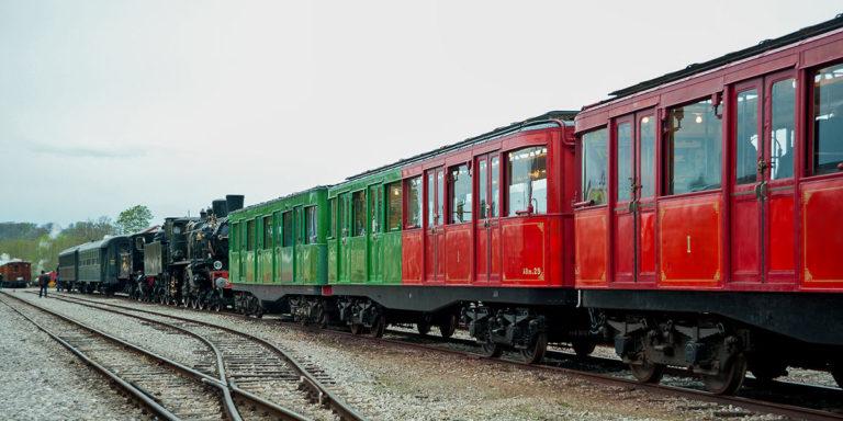 Remorque Sprague-Thomson mixte ABm.29 en Baie de Somme pour la Fête de la Vapeur